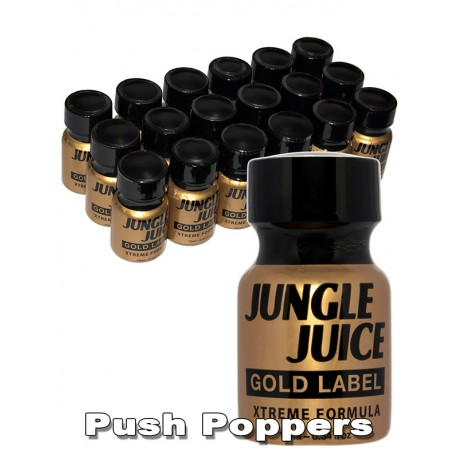 Small JUNGLE JUICE gold label