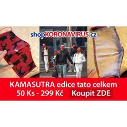 Rouška KAMASUTRA vlastní edice + čistič 24 ml