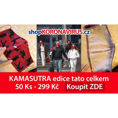 Rouška KAMASUTRA vlastní edice