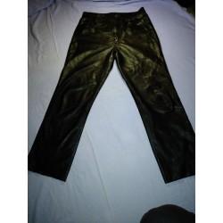 Kožené kalhoty 1